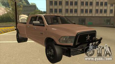 Dodge Ram [Johan] for GTA San Andreas left view