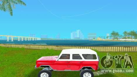 UAZ 3151 for GTA Vice City right view