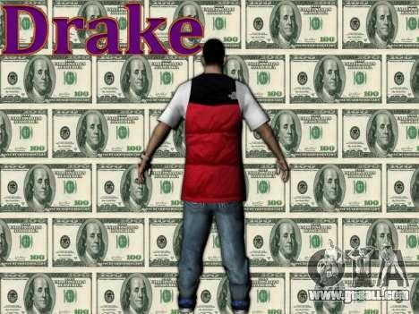 Drake for GTA San Andreas second screenshot