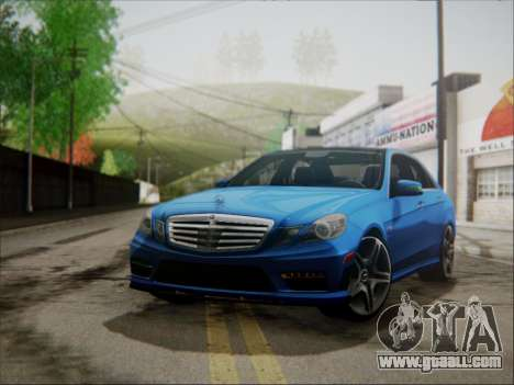 Mercedes-Benz E63 AMG 2010 for GTA San Andreas back view