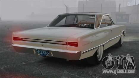 Dodge Coronet 440 1967 for GTA 4 back left view