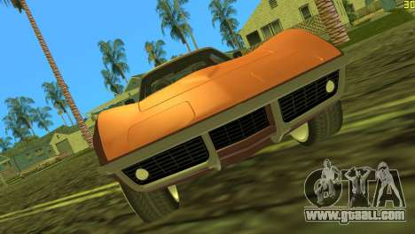 Chevrolet Corvette C3 Tuning for GTA Vice City left view