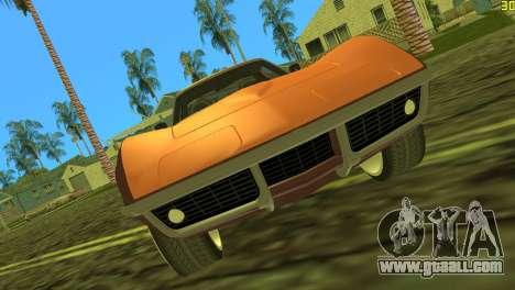 Chevrolet Corvette C3 Tuning for GTA Vice City left view