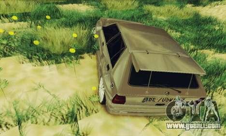 Lancia Delta HF Integrale for GTA San Andreas back view