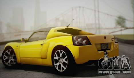Vauxhall VX220 Turbo 2004 for GTA San Andreas back left view