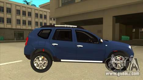 Dacia Duster 2014 for GTA San Andreas back left view