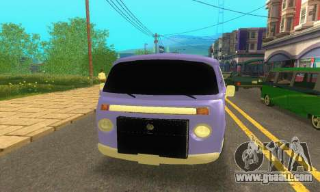 VW Kombi ESCOLAR for GTA San Andreas right view