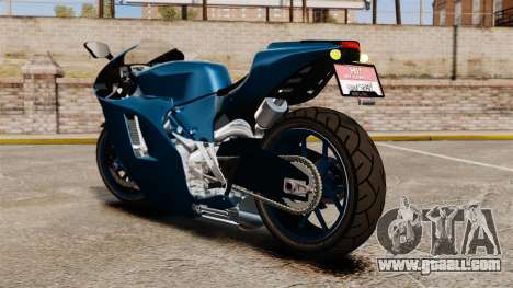 Ducati Desmosedici RR 2012 for GTA 4 left view
