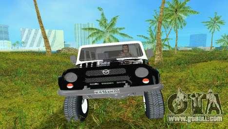 UAZ 3151 for GTA Vice City left view