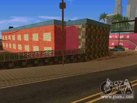 New textures at Jefferson for GTA San Andreas tenth screenshot