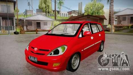 Toyota Kijang Innova 2.0 G v3.0 Steel Rims for GTA San Andreas