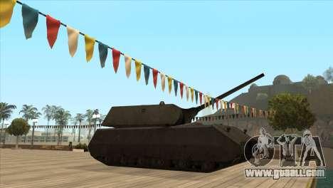 Panzerkampfwagen VIII Maus for GTA San Andreas second screenshot