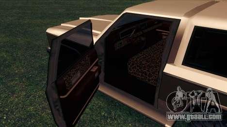 Rancher Bronco for GTA San Andreas bottom view