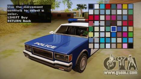 All Cars Radio & Repair Activator for GTA San Andreas third screenshot
