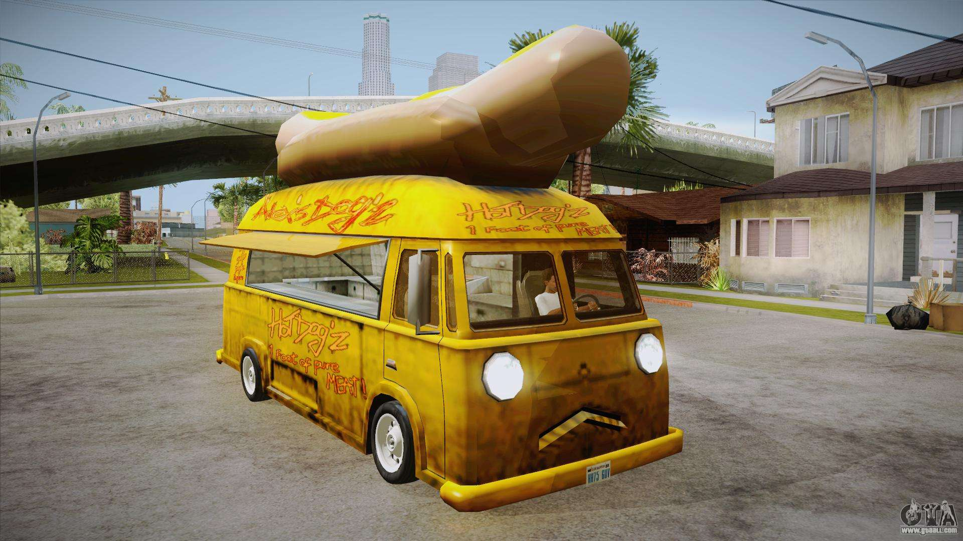 hot dog van custom for gta san andreas. Black Bedroom Furniture Sets. Home Design Ideas