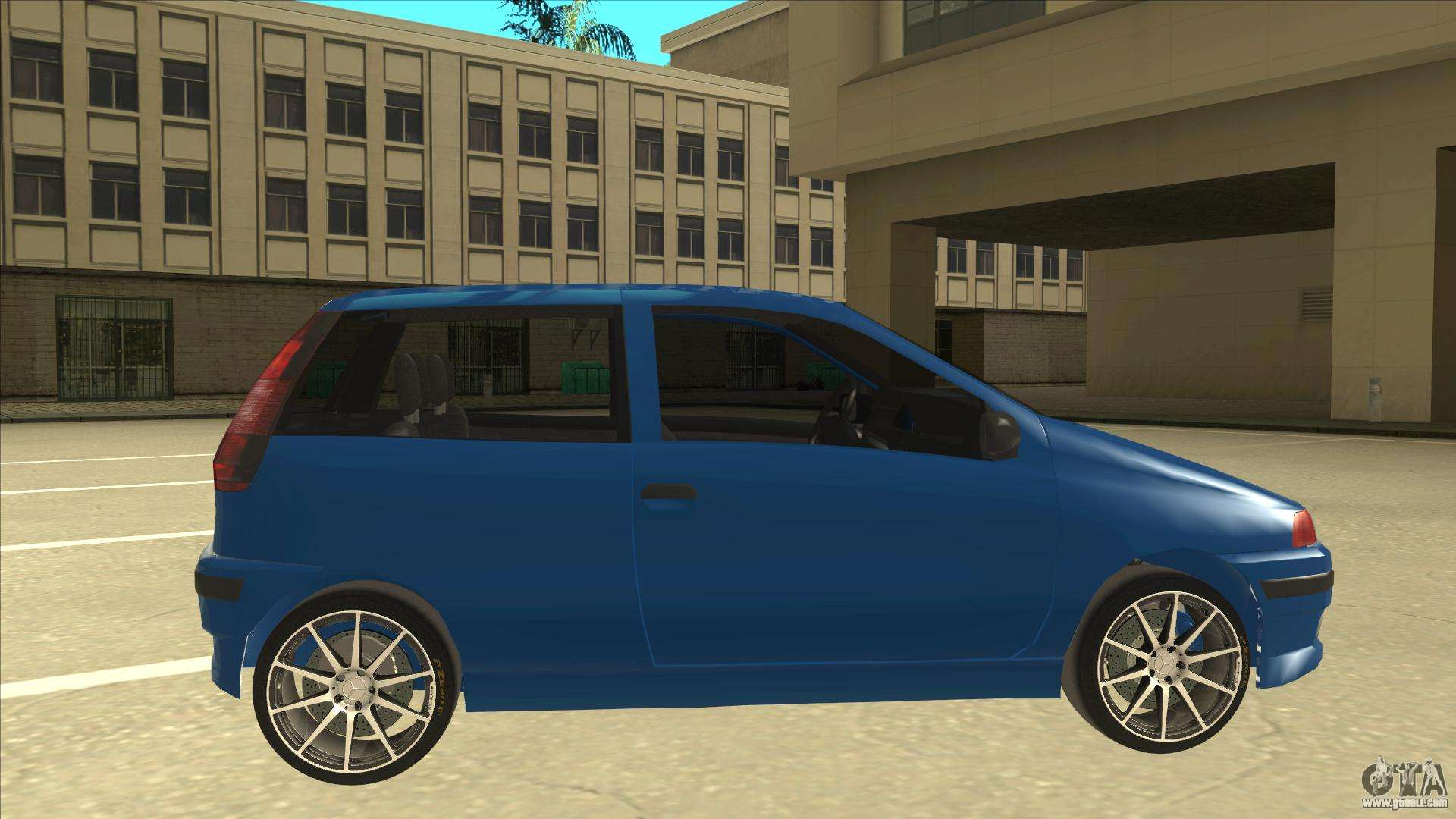 fiat punto mk1 tuning for gta san andreas. Black Bedroom Furniture Sets. Home Design Ideas