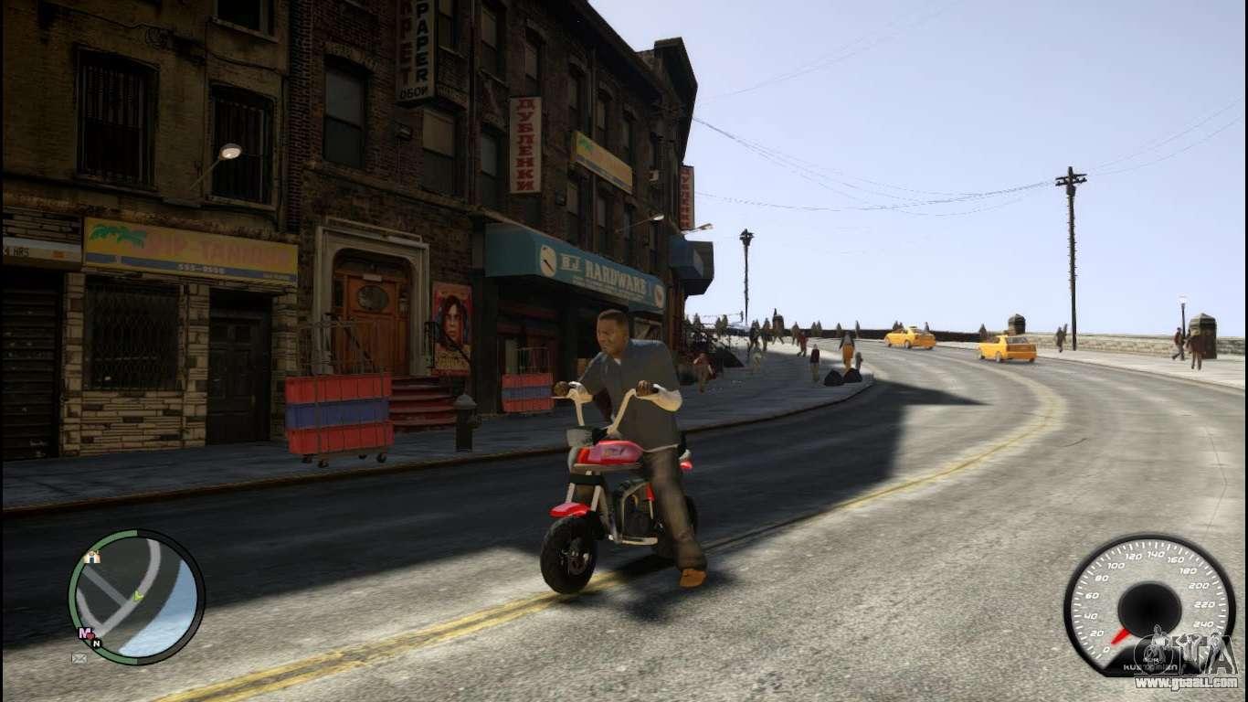 Street Fighter Motorcycle >> Suzuki PV for GTA 4