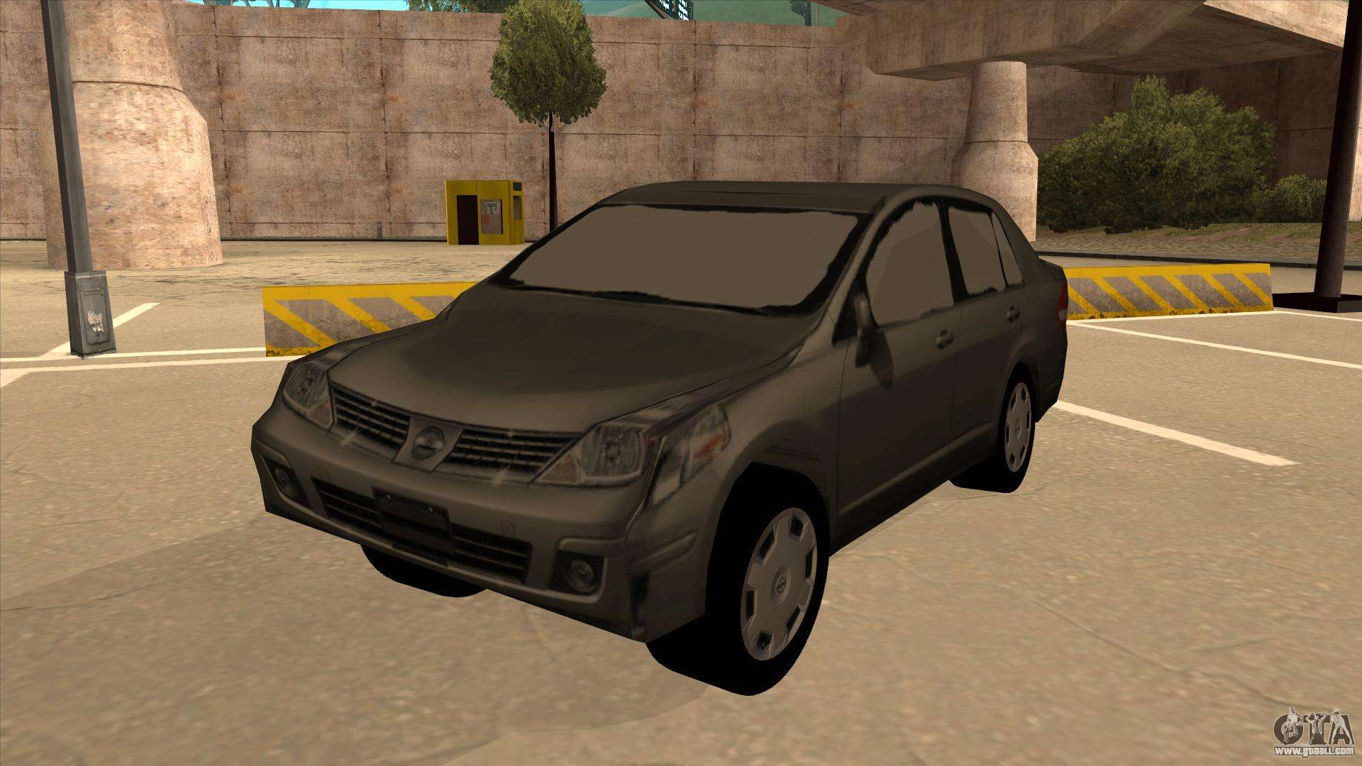 Nissan Tiida Sedan For Gta San Andreas