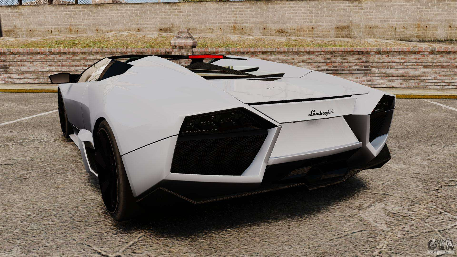 lamborghini reventon roadster 2009 for gta 4. Black Bedroom Furniture Sets. Home Design Ideas