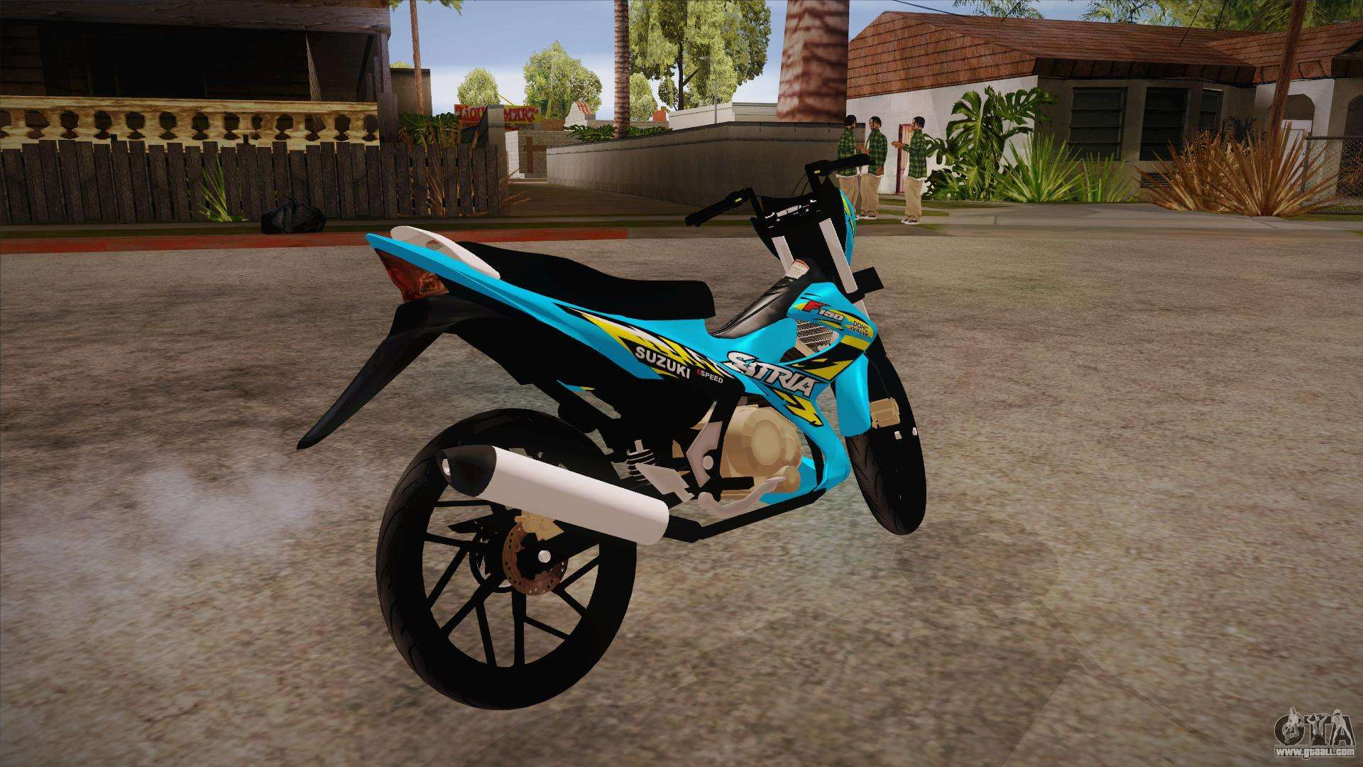 Suzuki Satria F150 2013 For Gta San Andreas All New