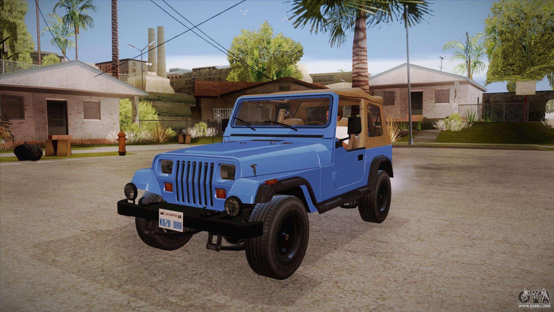 Jeep Wrangler V10 Tt Black Revel For Gta San Andreas