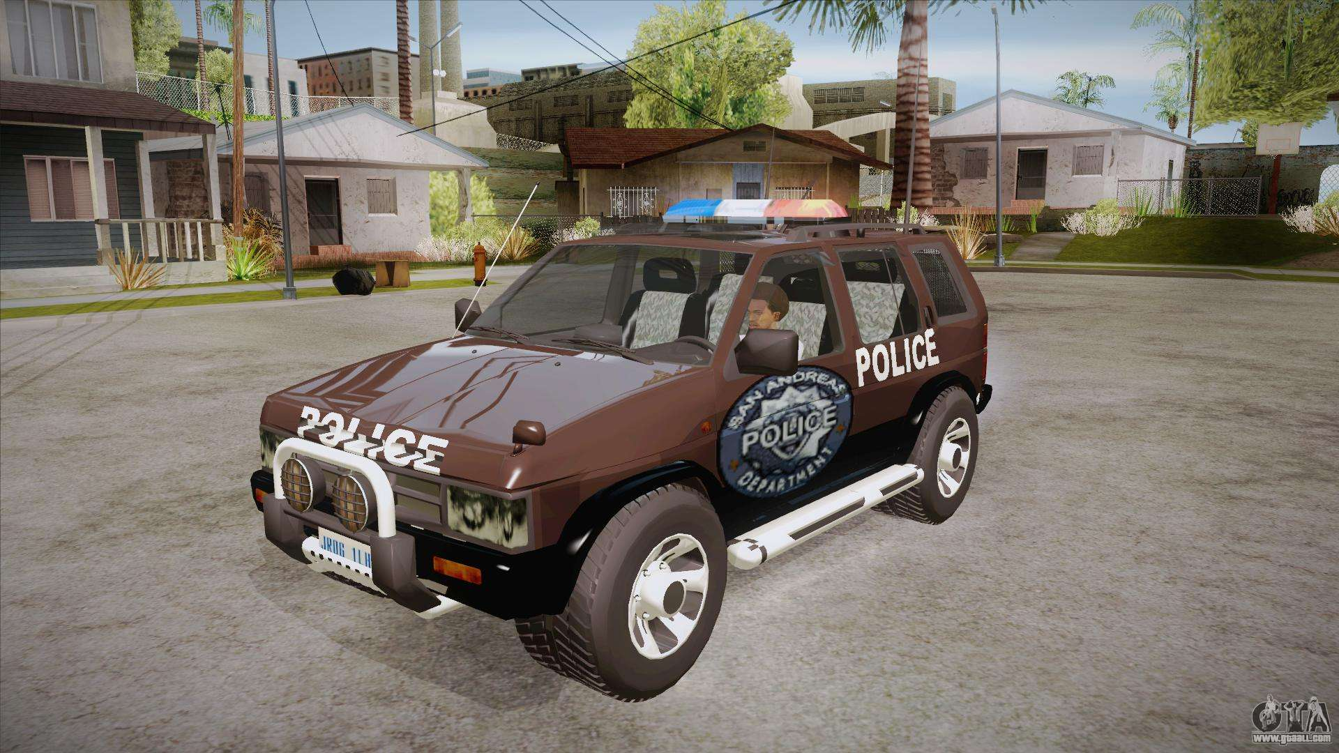 Nissan Terrano 2013 Model >> Nissan Terrano RB26DETT Police for GTA San Andreas