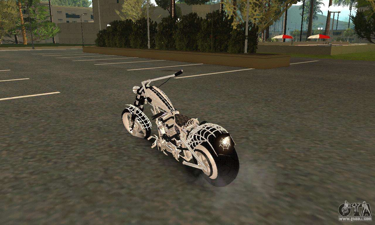 Chopper Bikes In Gta 5 Black Widow for GTA San