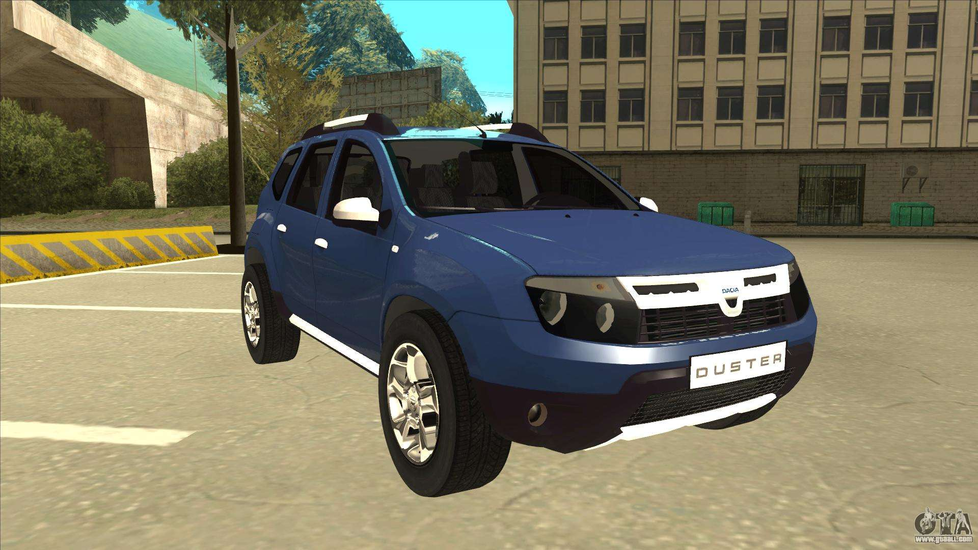 dacia duster 2014 for gta san andreas. Black Bedroom Furniture Sets. Home Design Ideas