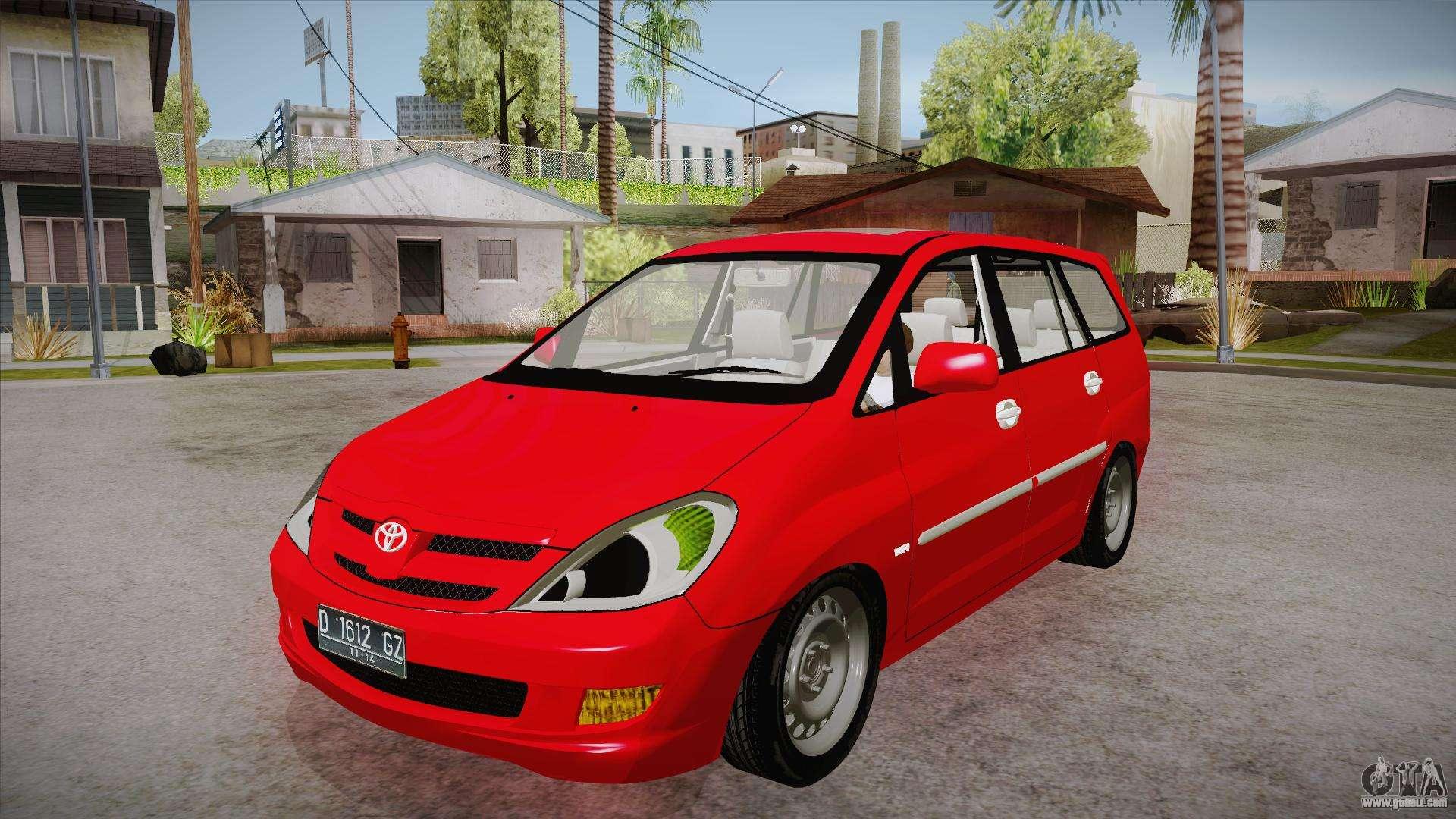 Toyota Kijang Innova 2.0 G V3.0 Steel Rims For GTA San Andreas. Cars