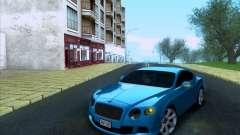 Bentley Continental GT Final 2011 for GTA San Andreas
