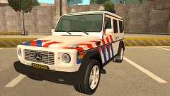 European Emergency Mercedes-Benz G 2008 for GTA San Andreas