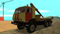 KAMAZ 43114 tow truck