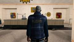 The new CJ jacket for GTA San Andreas