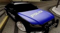 Audi RS5 2011 Police