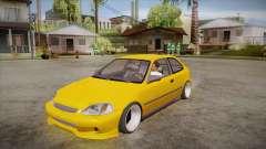 Honda Civic 1998 Tuned for GTA San Andreas