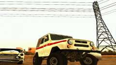 UAZ 469 Ambulance for GTA San Andreas