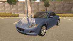 Mazda RX8 Tunable for GTA San Andreas