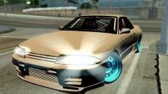 Nissan Skyline R32 Hellaflush for GTA San Andreas