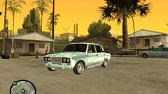 VAZ 2106 silver for GTA San Andreas