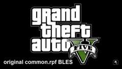 Original common.rpf BLES for GTA 5