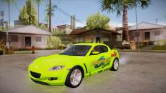 Mazda RX8 Tunnable for GTA San Andreas