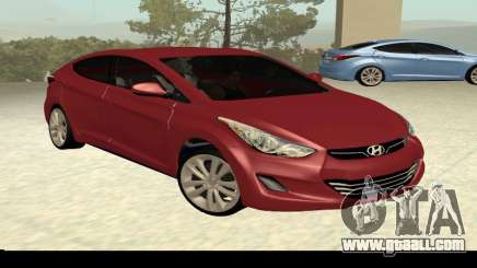 Hyundai Elantra 2013 for GTA San Andreas