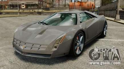 Cadillac Cien XV12 [EPM] for GTA 4
