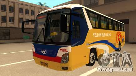 Yellow Bus Line A-29 for GTA San Andreas