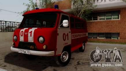 UAZ 452 Fire Staff Penza Russia for GTA San Andreas