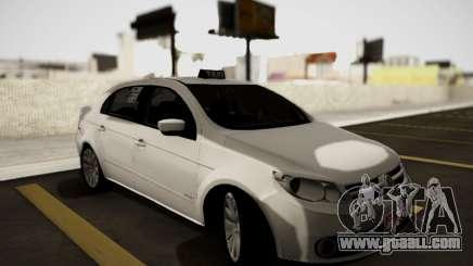 Volkswagen Voyage Taxi for GTA San Andreas
