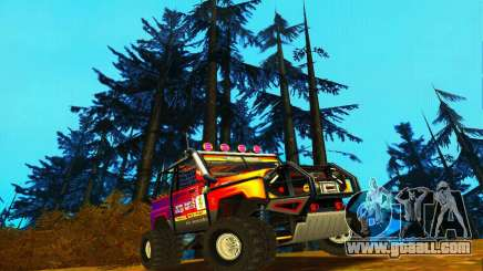 UAZ Hunter Trial for GTA San Andreas