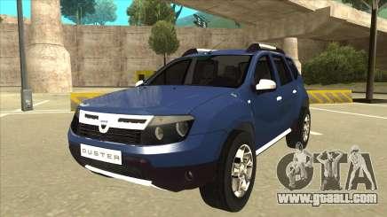 Dacia Duster 2014 for GTA San Andreas