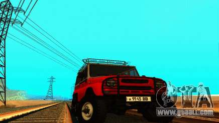 UAZ 31514 6 x 6 for GTA San Andreas
