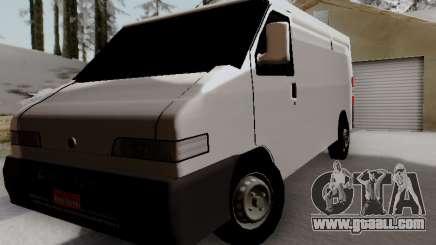 Fiat Ducato Cargo for GTA San Andreas